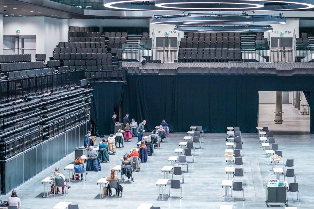očkovací centrum Praha O2 aréna
